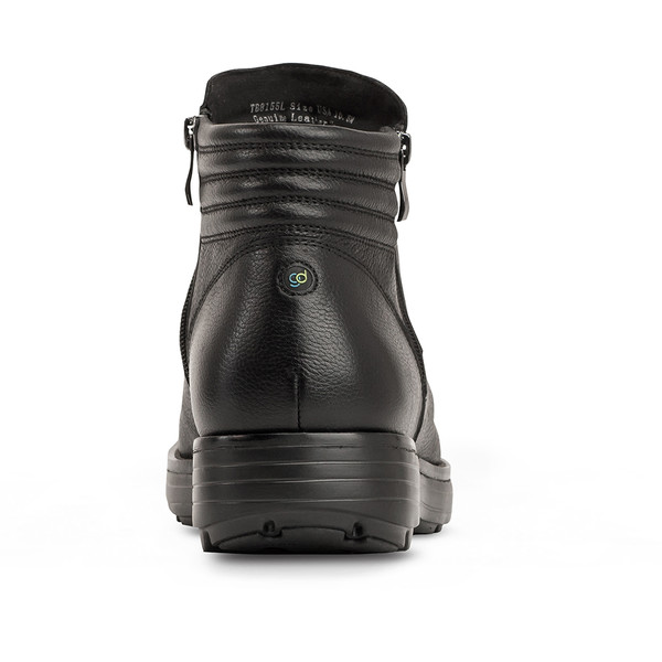 men's Raven black boot angle-6