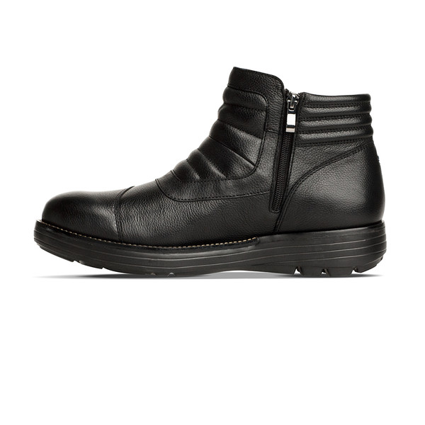 men's Raven black boot angle-7