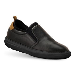 TB8158L MEN'S Sander BLACK SHOE