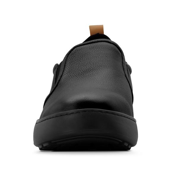 men's Sander black casual angle -5