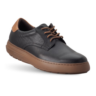 TB8159L MEN'S oskar BLACK SHOE