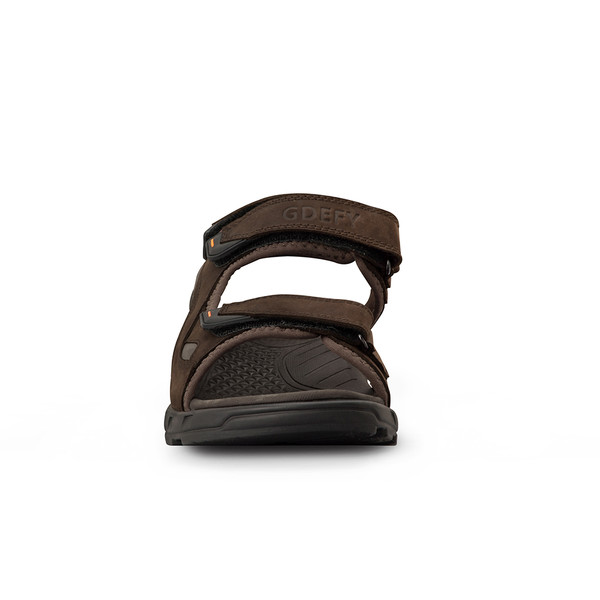 mens Outpost black sandals angle-5