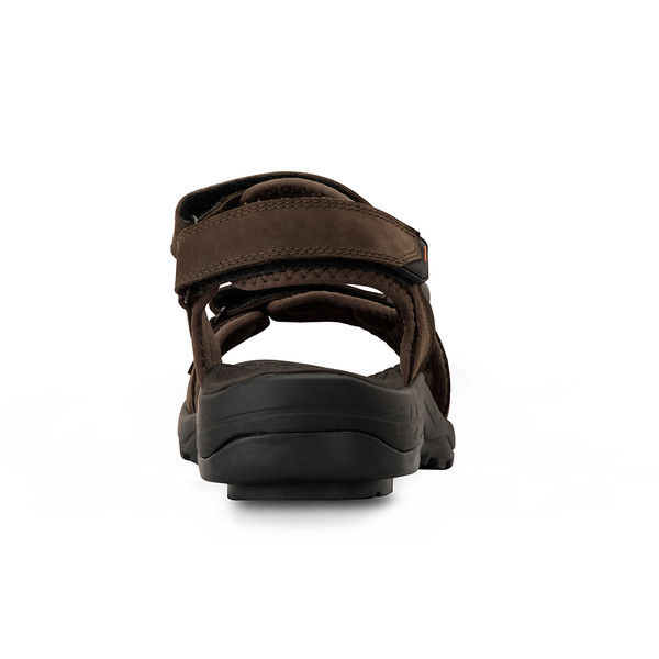 mens Outpost black sandals angle-6