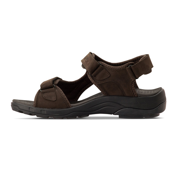 mens Outpost black sandals angle-7