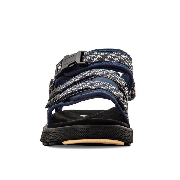 mens blue and yellow sandal angle-5