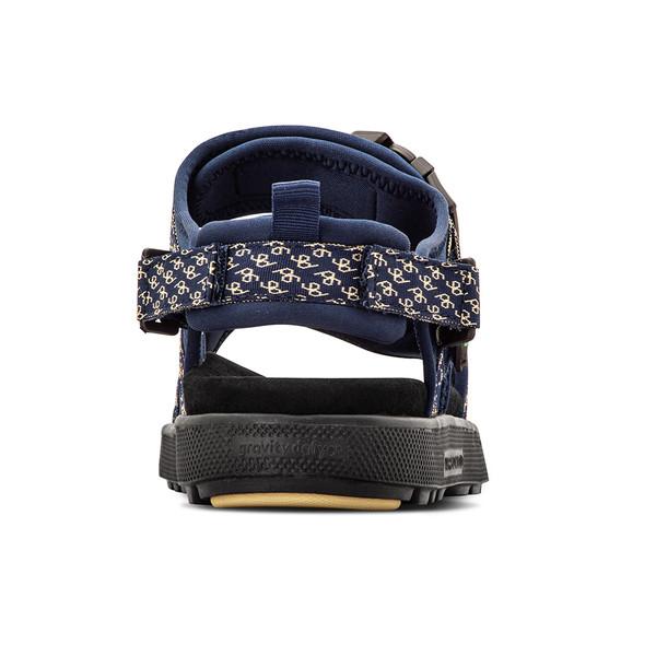 mens blue and yellow sandal angle-6
