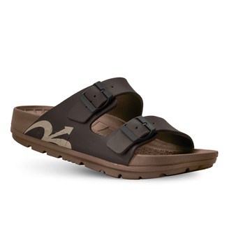 photo of men's upbov brown sandals angle