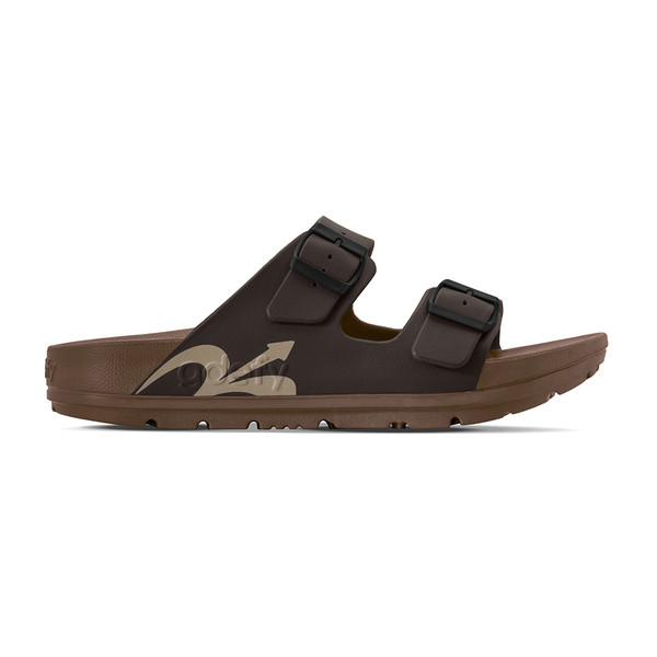 photo of men's upbov brown sandals angle -2