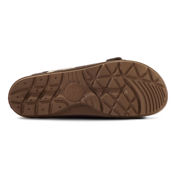 photo of men's upbov brown sandals angle -3