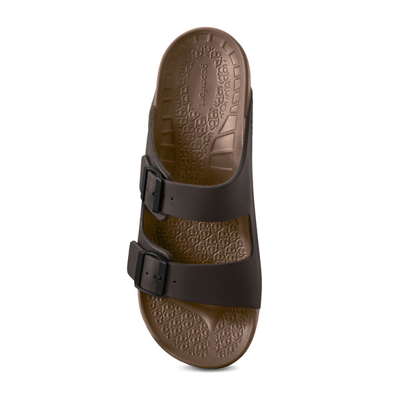 photo of men's upbov brown sandals angle -4