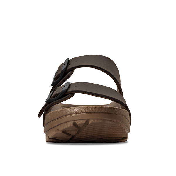 photo of men's upbov brown sandals angle -5