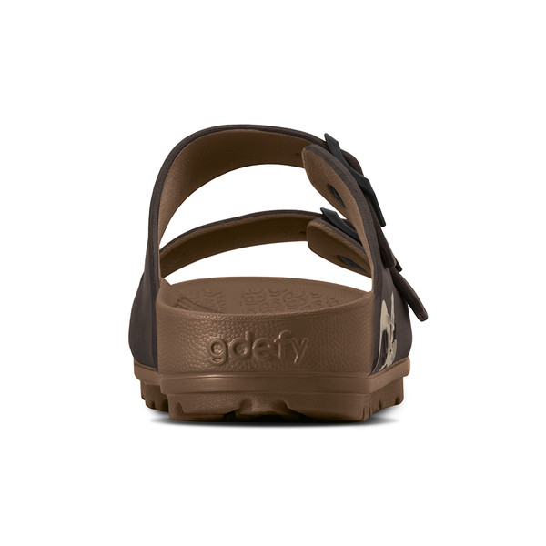 photo of men's upbov brown sandals angle -6