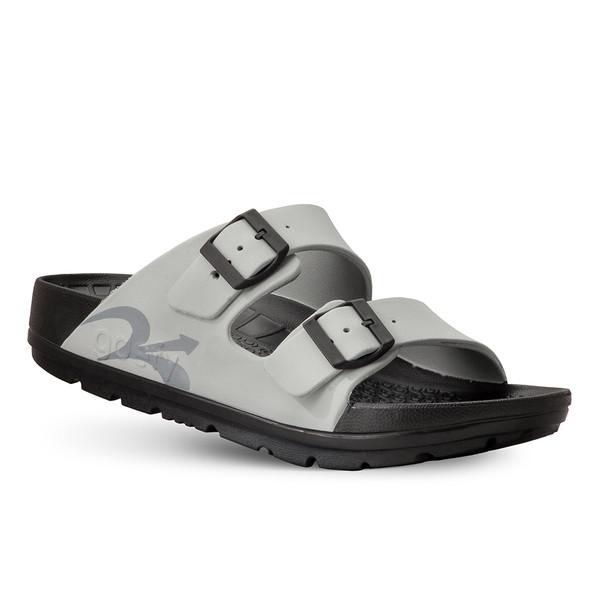 photo of men's upbov gray sandals angle