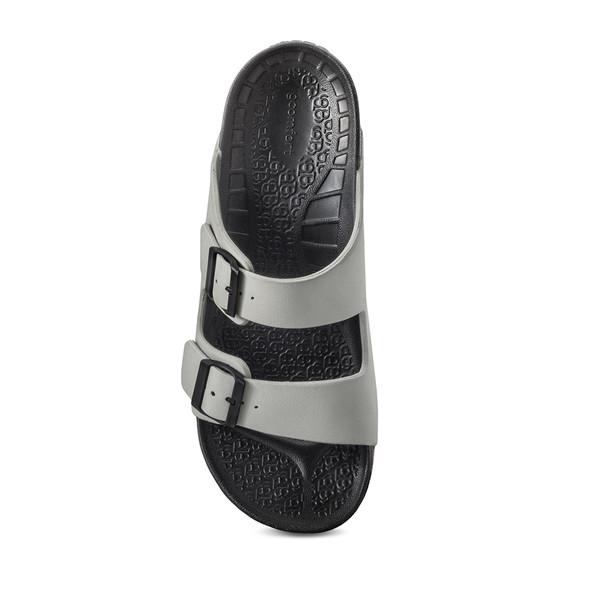 photo of men's upbov gray sandals angle -4