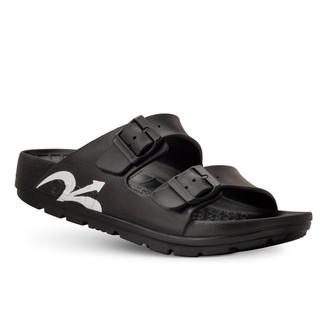 photo of men's upbov black sandals angle