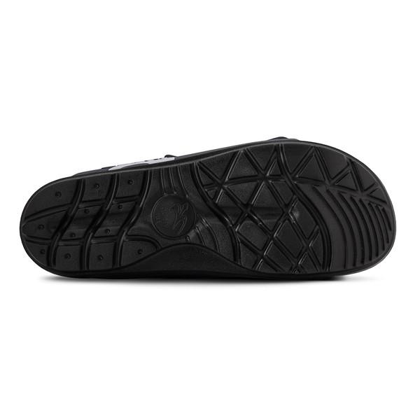 photo of men's upbov black sandals angle -3