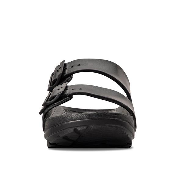 photo of men's upbov black sandals angle -5