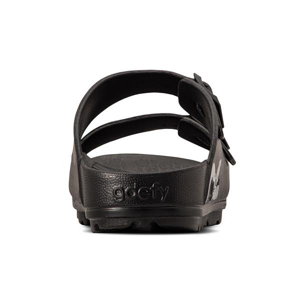 photo of men's upbov black sandals angle -6