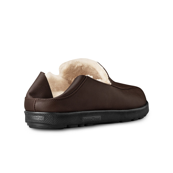 mens's brown Salazar slippers-8