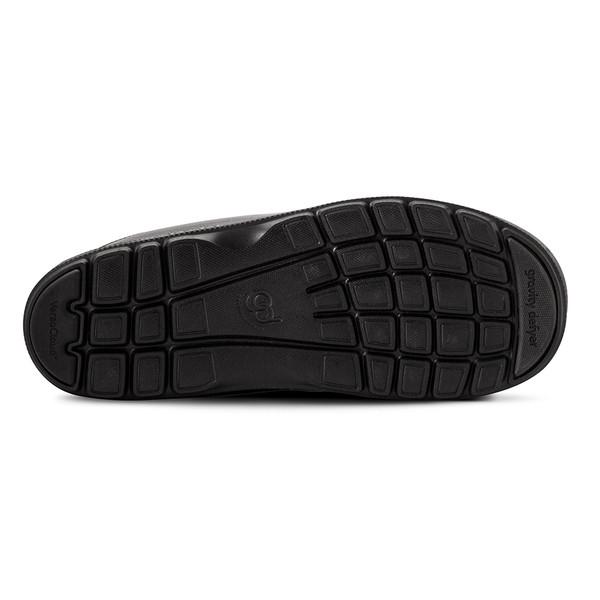 mens's black Salazar slippers-3