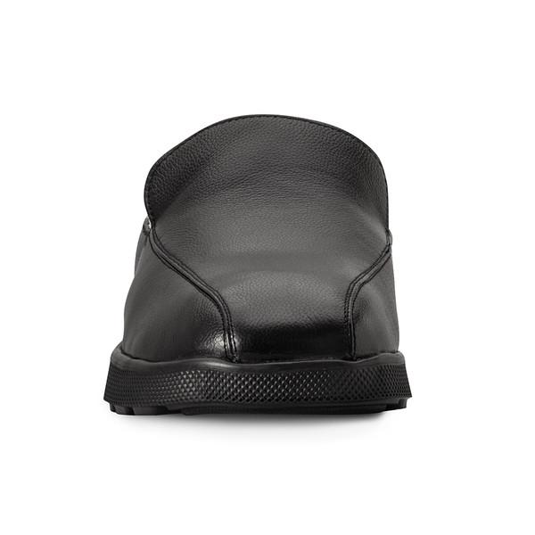 mens's black Salazar slippers-5