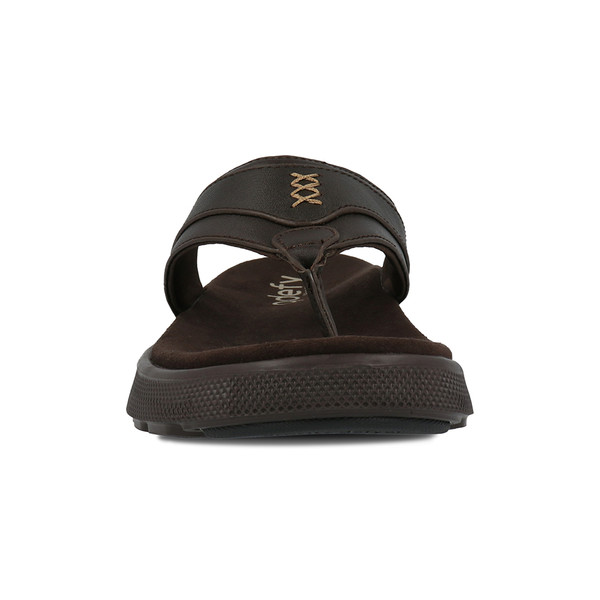 men's tully brown sandals angle-5