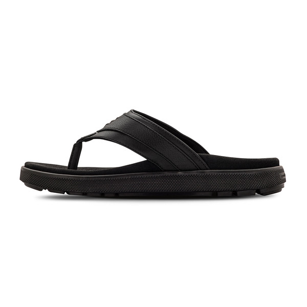 men's tully black sandals angle-7