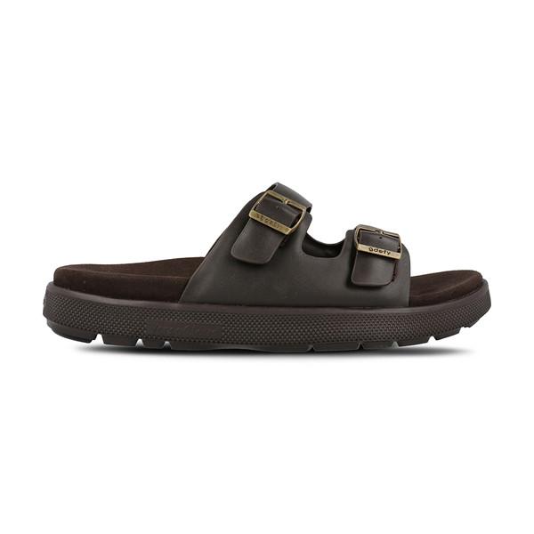 men's heston brown sandals angle-2