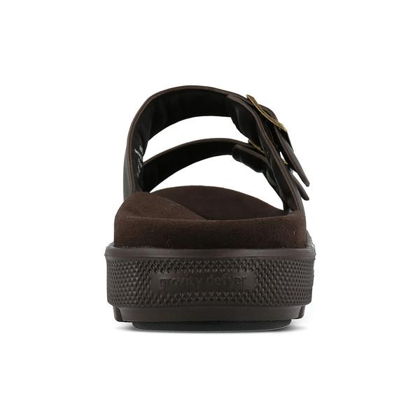 men's heston brown sandals angle-6