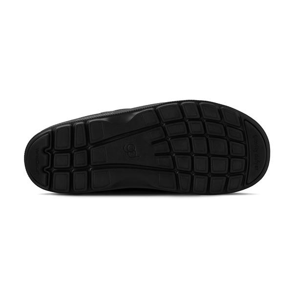 men's heston black sandals angle-3