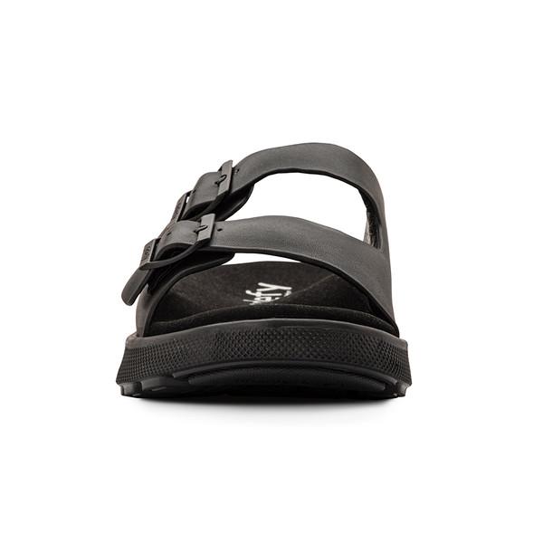 men's heston black sandals angle-5