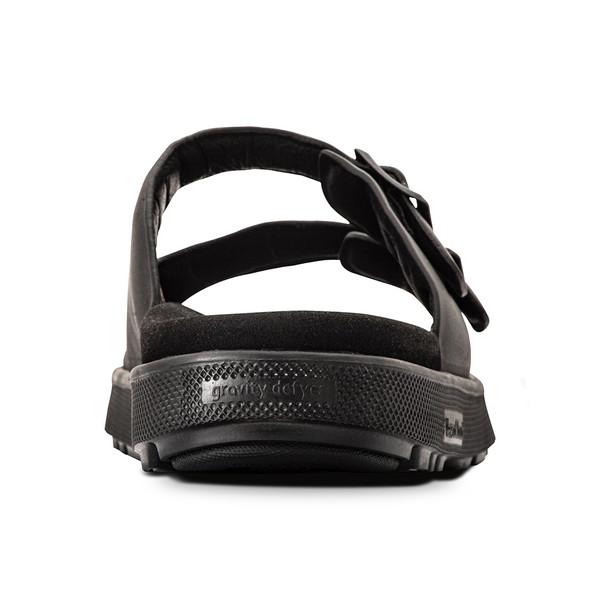 men's heston black sandals angle-6