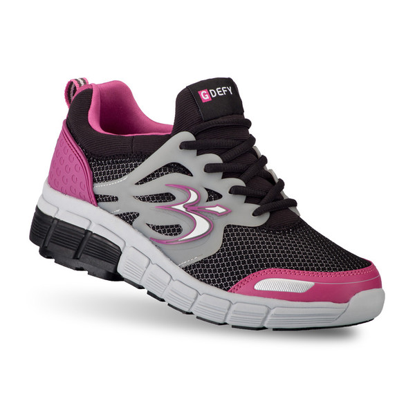 Women S G Defy Galaxy Black Pink Athletic Shoes