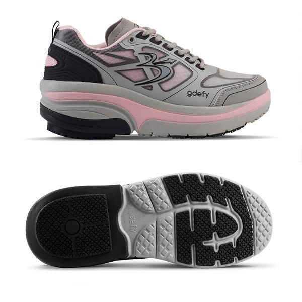womens Ion gray-pink Athletics-3