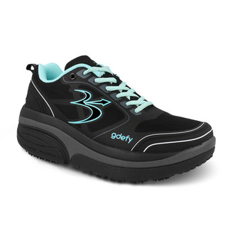 womens Ion black-teal Athletics-2