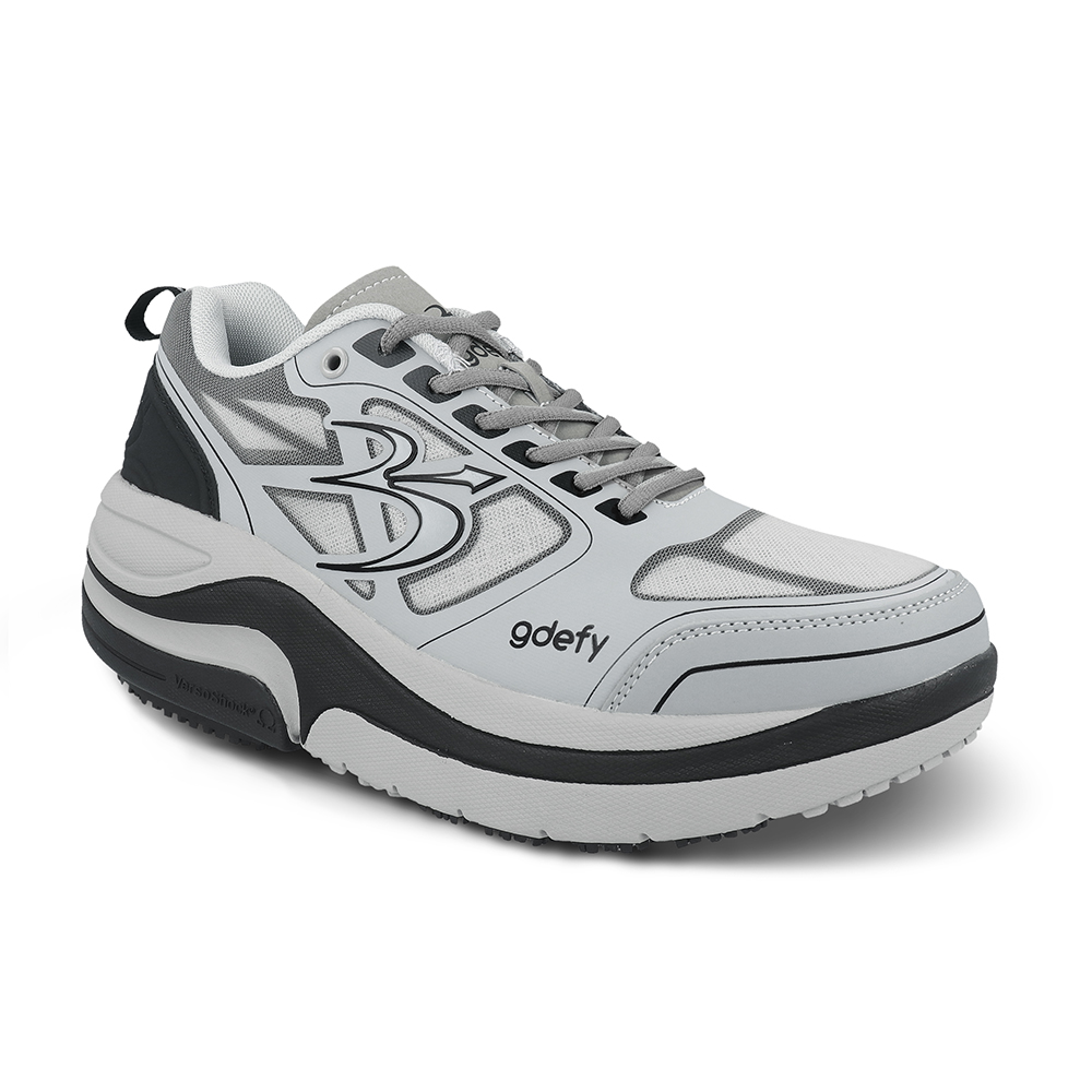 Gravity Defyer TB9022MRG Men/'s Ion Grey//Red Sneakers