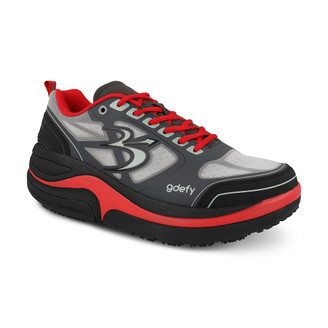 GrayRed Men's G-Defy Ion Athletic Shoes
