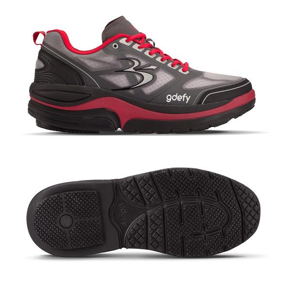 mens Ion red-gray Athletics-3
