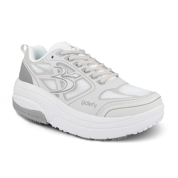 GraySilverWhite Men's G-Defy Ion Athletic Shoes