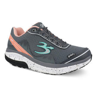 GrayOrangePink Women's G-Defy Mighty Walk Athletic Shoes