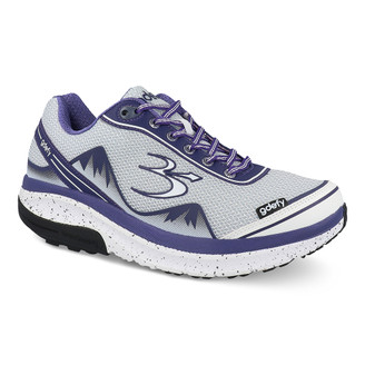 PurpleWhite Women's G-Defy Mighty Walk Athletic Shoes