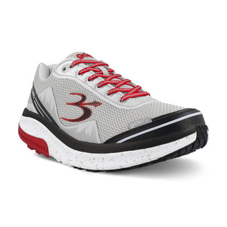 GrayRed Men's G-Defy Mighty Walk Athletic Shoes