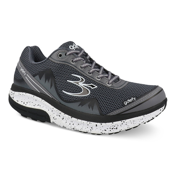 Gray Men's G-Defy Mighty Walk Athletic Shoes