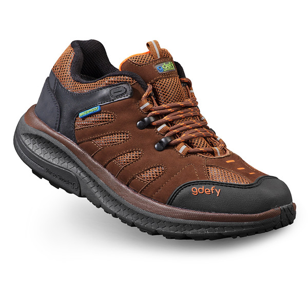 Brown Men's G-Defy Stride Lane Hiking Shoes