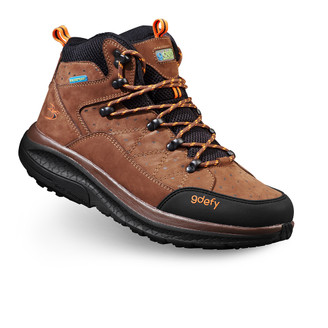 Brown Men's G-Defy Trail Lane Hiking Boots