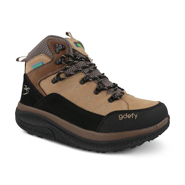 Men's sierra hiking shoes- angle 1