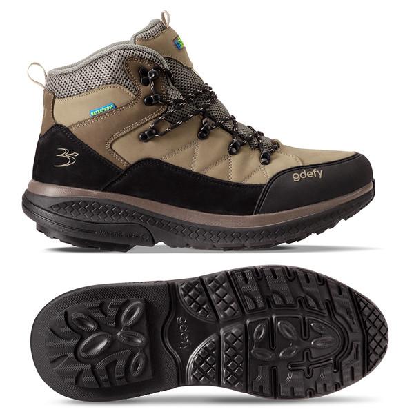 Mens sierra hiking shoes - angle 2