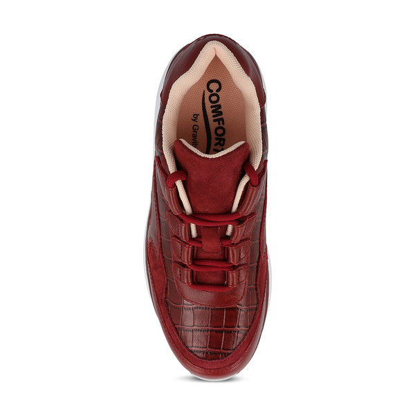 Women's Noganit Red Angle-2